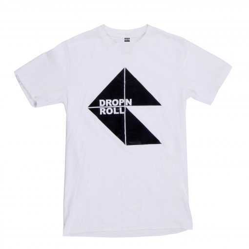 White T-Shirt Anti Tesselate Design